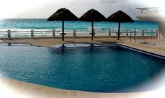 Luxury three bedroom Oceanfront Vacation Rental in Cancun from @homeaway! #vacation #rental #travel #homeaway