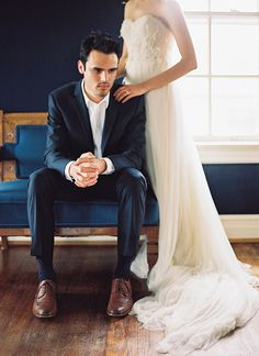 Refined Wedding Photography Inspiration #groom #suit #groomstyle