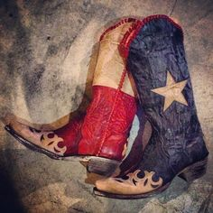 Old Gringo Spirit of Texas Cowgirl Boots at www.rivertrailmercantile.com!