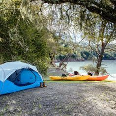 Kayak camping keeps you off your feet and offers a chance to escape it all