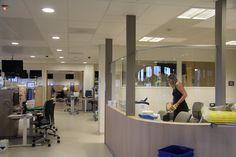 Zondag 6 september: De nieuwe Dialyse-afdeling ontvangt vanavond de eerste nachtdialyse-patiënten in Vleugel B. www.zuyderland.nl/bouw