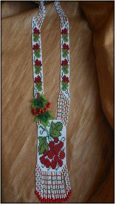 """Gerdan """"Viburnum""""Ukrainian Gerdan, Ukrainian necklace"""