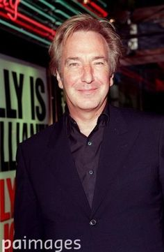 Alan. 'Billy Elliot' premiere, Sep 27, 2000. At the Empire cinema at London's Leicester Square.