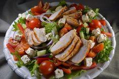 Tuulikummun keittiössä: Suomen suosituin salaatti Power Salat, Green Goddess Dressing, Salad Recipes, Healthy Recipes, Fresh Fruit Salad, Sweet And Salty, Caprese Salad, Food Inspiration, Mozzarella