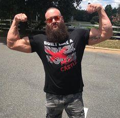 Braun Strowman, Sporty, Mens Tops, T Shirt, Women, Style, Fashion, Supreme T Shirt, Swag