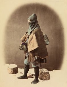 Winter ninja by Felice Beato