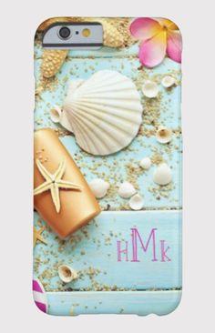 Summer Shells Monogram
