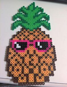 perler bead pineapple