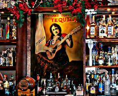 Tequila Bar by Barbara Chichester A variety of my work  in Fine Art Photography, Paintography. All suitable for wall hangings, interior decor, posters, prints...You may view and purchase all of my Art at the following site:   http://barbara-chichester.artistwebsites.com/