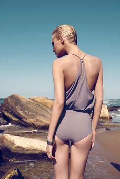 Moeva KIM draped swimsuit