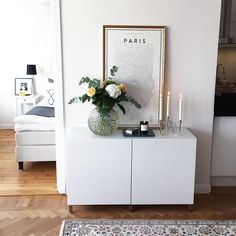 Happy Lill-lördag! Bjuder på en gammal bild från min lägenhet på Kungsholmen…