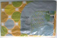 PIERRE CARDIN For FIELDCREST Full Flat Sheet  / by PacificModern
