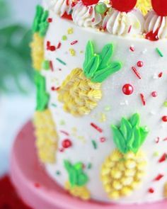 Strawberry Malt Cake - Baking with Blondie Vanilla Bean Cakes, Swirl Cake, White Chocolate Ganache, Malted Milk, Summer Cakes, White Cake Mixes, Cake Baking, Candy Melts