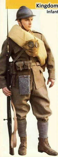 Romanian soldier, WWI