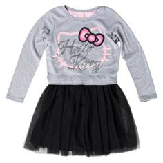 Girls will WOW holiday guests in this #hellokitty sweater dress from #target!