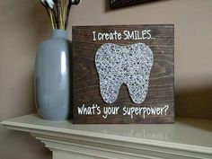 Check out this item in my Etsy shop https://www.etsy.com/listing/532143642/made-to-order-tooth-string-art