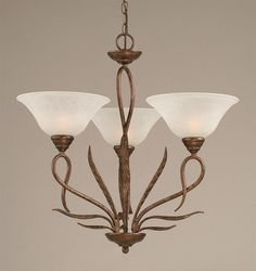 Elegant Buy 5 Light Chandelier W 7 In White Marble Glass Shades Also Chandelier Glass Shades