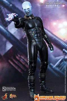 The Amazing Spider-Man 2 Movie Masterpiece Action Figure 1/6 Electro 30 cm  ( Sideshow Collectibles )