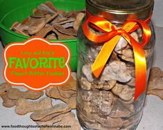 FoodThoughtsOfaChefWannabe: Lucy and Ava's Favorite Peanut Butter Tookies (Dog Treats)