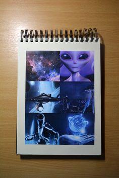 Schetsboek / 6 van de 10 verschillende beeldmaterialen.