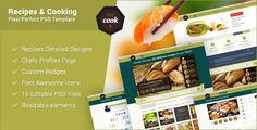 Shopping PSDCook - Recipes & Cooking PSD DesignYes I can say you are on right site we just collected best shopping store that have