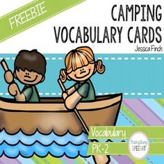 Use these for flashcards or print two copies and use them to play match. If you like this activity, check out my Camping Speech Sheets and my Let's Go Camping Language Pack.   Thanks for looking! Jessica Finch, Everything Speechy