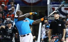 Miguel Sano #22 of the Minnesota Twins competes in the T-Mobile Home Run Derby at Marlins Park on July 10, 2017 in Miami, Florida.     -  Aaron Judge wins 2017 MLB All-Star Home Run Derby   -  July 10, 2017: