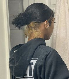 Black Girl Braided Hairstyles, Pretty Hairstyles, Dyed Natural Hair, Dyed Hair, Baddie Hairstyles, Girl Hairstyles, Curly Hair Styles, Natural Hair Styles, Dying My Hair