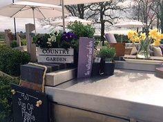 Fresh herb garden at our al fresco terrace! #herbs #garden #knutsford #sun #hotel