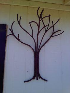 Rebar Tree Google Search Gardening Ideas Pinterest
