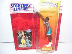 1994 starting line up Alonzo Mourning in original package.
