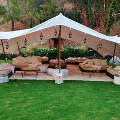 Moroccan Bedouin tent & lounge in white - Yelp