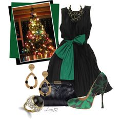 """Christmas Party"" by christa72 on Polyvore"