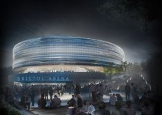 New Plans Unveiled for Populous' Bristol Arena,Courtesy of The Bristol City Council