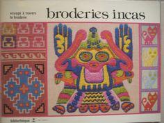 Broderies Incas de Bibliothèque Dmc - Achat vente neuf occasion