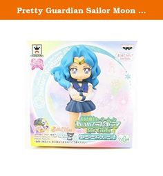 Pretty Guardian Sailor Moon Figure for Girls Vol.4 Aprox.2.5- Sailor Neptune by Banpresto [parallel import goods]. It's shipped off from Japan.