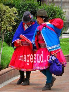 traditional  dress, Ecuador highlands