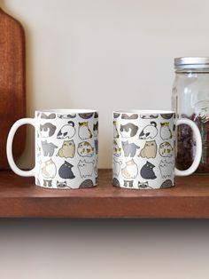 """Cats Cats Cats"" Mug by ninay Framed Prints, Canvas Prints, Cat Mug, Custom Mugs, Ipad Case, Wall Tapestry, Wall Murals, Floor Pillows, Cat Lovers"