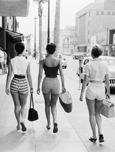 U.S. Wilshire Blvd., Beverly Hills, L.A., CA, 1950s / LIFE
