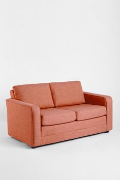 Deco Convertible Sofa-Urban Outfitters. can turn into a bed and is apparently really light weight, and I LOVE THIS COLOR for my little eclectic hippy home. <3