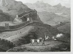 Engraving made by Alexander and Parish as part of Sir George Leonard Staunton's visit to China in 1794.