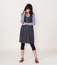 cd4b7120e3 Light Summer Denim Dress by Naturally Cornish brand EKO Womenswear