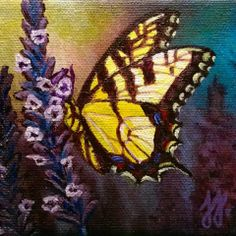 """""""The Awakening"""" Acrylic on stretched canvas © 2013 Julie Joaquin."""