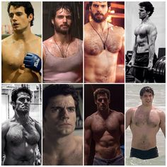 "1,418 Likes, 18 Comments - Henry Cavill  (@henrycavillunofficial) on Instagram: ""It is seriously sweltering hot over this side of the world today and this collage is so not helping…"""