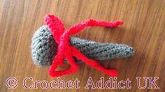 Free Christmas Nail Decoration Crochet Pattern ~ Crochet Addict UK