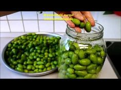 Food Pictures, Matcha, Pickles, Cucumber, Yummy Food, Make It Yourself, Fruit, Youtube, Diy