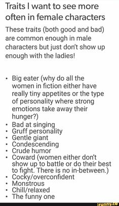 character building With the big eater part, can they…can they not also be these super lean individuals unless they are CrossFit/body builders and their commitment to fitness is a factor of their character that goes beyond aesthetic? Book Writing Tips, Writer Tips, Creative Writing Prompts, Writing Words, Writing Help, Writing Skills, Writing Ideas, Writing A Novel, Fantasy Writing Prompts
