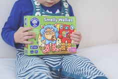 Play Time: Orchard Toys Smelly Wellies Game - educational toy Orchard Toys review toy review toys