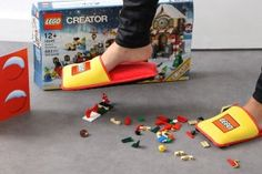 Check out this ultimate gift for #LegoLovers and their moms! #NerdAlert! http://blogs.babycenter.com/products_and_prizes/lego-slippers-photos-11172015-step-on-legos/