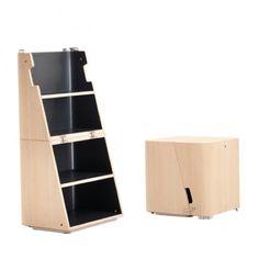 Cerruti Baleri Scalo Modern Stool and Step Ladder   Stardust Modern Design